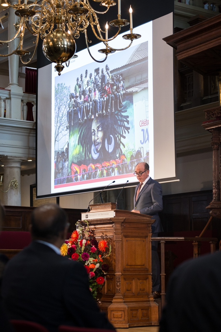 Opening Academic Year 2014, Rob de Vries