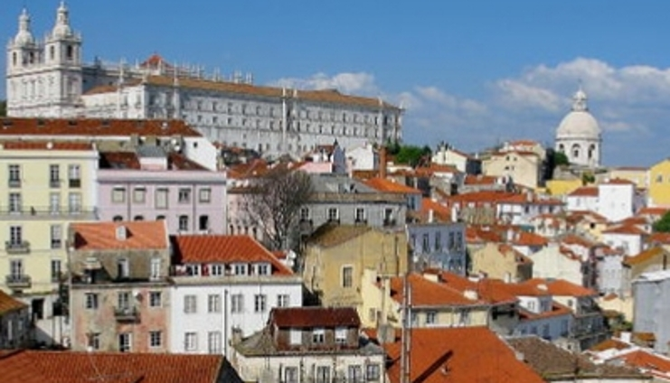 View in Lisboa, Portugal