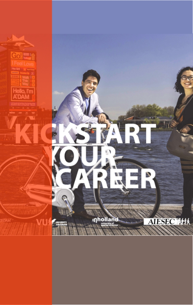 Kickstart your career poster